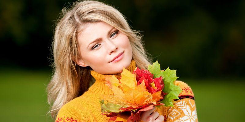 Как подготовить кожу к осени. Советы салона красоты Этерия
