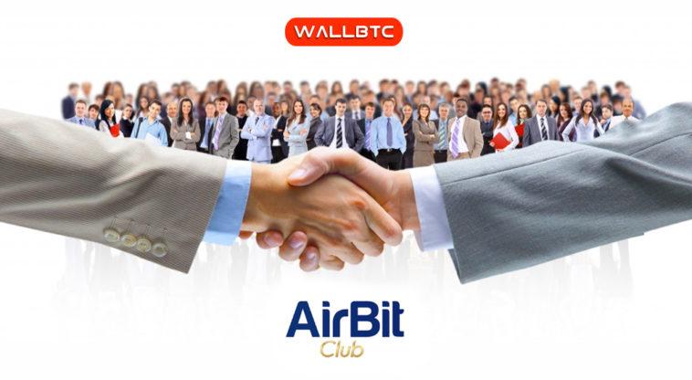 В сети появилось множество слухов по поводу отношения обменника WallBTC и AirBitClub