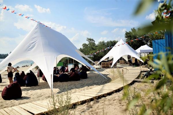 В Киеве откроется обновленный пляж «Чорторий»